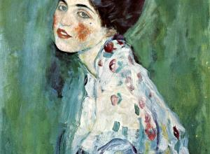 Gustav Klimt, Portrait of a Lady (detail), 1916-17.