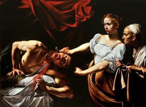 Carrivaggio, Judith Beheading Holofernes, c. 1598-9. Palazzo Barberini, Rome.