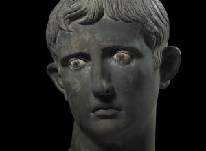 Head of Augustus Sculpture