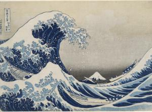 Hokusai Great Wave print