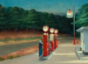 Edward Hopper, Gas, 1940