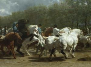 The Horse Fair Painting 1852