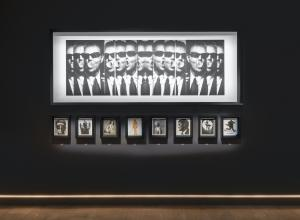 Installation view of Albert Watson: The Light Behind The Lens. Currently on view at SCAD FASH Museum of Fashion + Film in Atlanta. Courtesy SCAD.