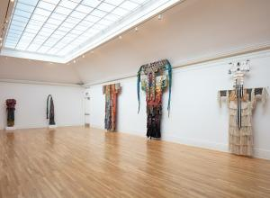Installation View of Laura Anderson Barbata: Transcommunality at Newcomb Art Museum.