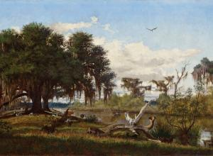 Everett B. D. Fabrino Julio, Life Along a Louisiana Bayou, 1877