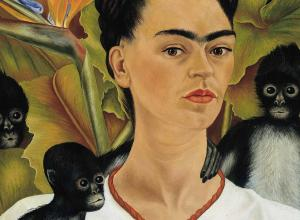 Frida Kahlo, Self-Portrait with Monkeys, 1943.