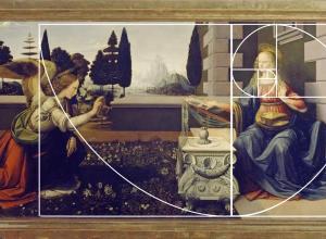 Leonardo da Vinci, Annunciation, c. 1472.