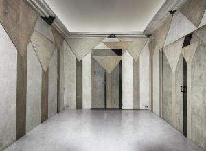 Wide image of smoking room Phillips auction may London design