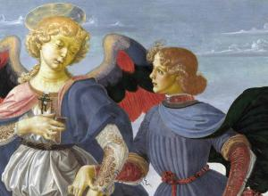 Andrea del Verrocchio and workshop Tobias and the Angel.