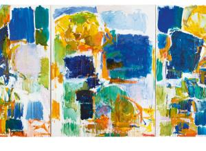 Joan Mitchell, Bonjour Julie, 1971. Collection of the Art Fund, Inc. at the Birmingham Museum of Art.