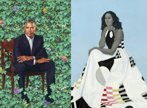 obama presidential portraits