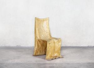 Gaetano Pesce (Italian, b. 1939), Golgotha Chair, 1972. Produced by Bracciodiferro. Dacron filled and resin soaked fiberglass cloth.