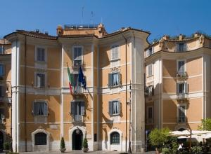 exterior view of Carabinieri Art Squad Headquarters
