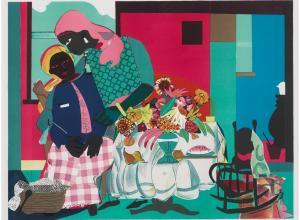 Romare Bearden (1914-1988), Morning, 1979 Estimate: $4,000-6,000