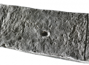 silver ingot from shipwreck