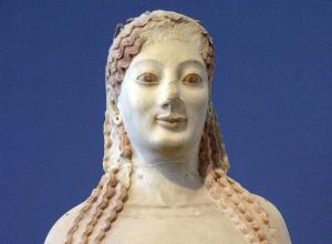Peplos Kore, c. 530 BC