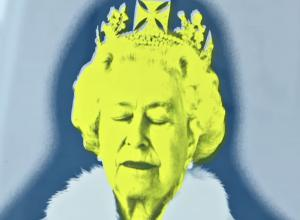 Print of Queen Elisabeth II