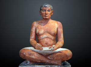 Photo of The Seated Scribe