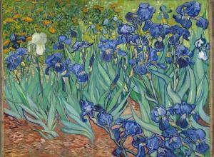 Vincent van Gogh, Irises, May 1889.