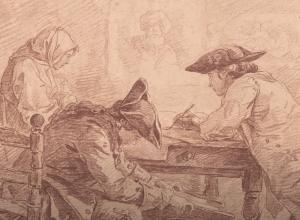 Hubert Robert Young Artists in Studio Detail