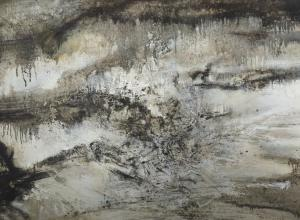 detail of zao wuo ki painting