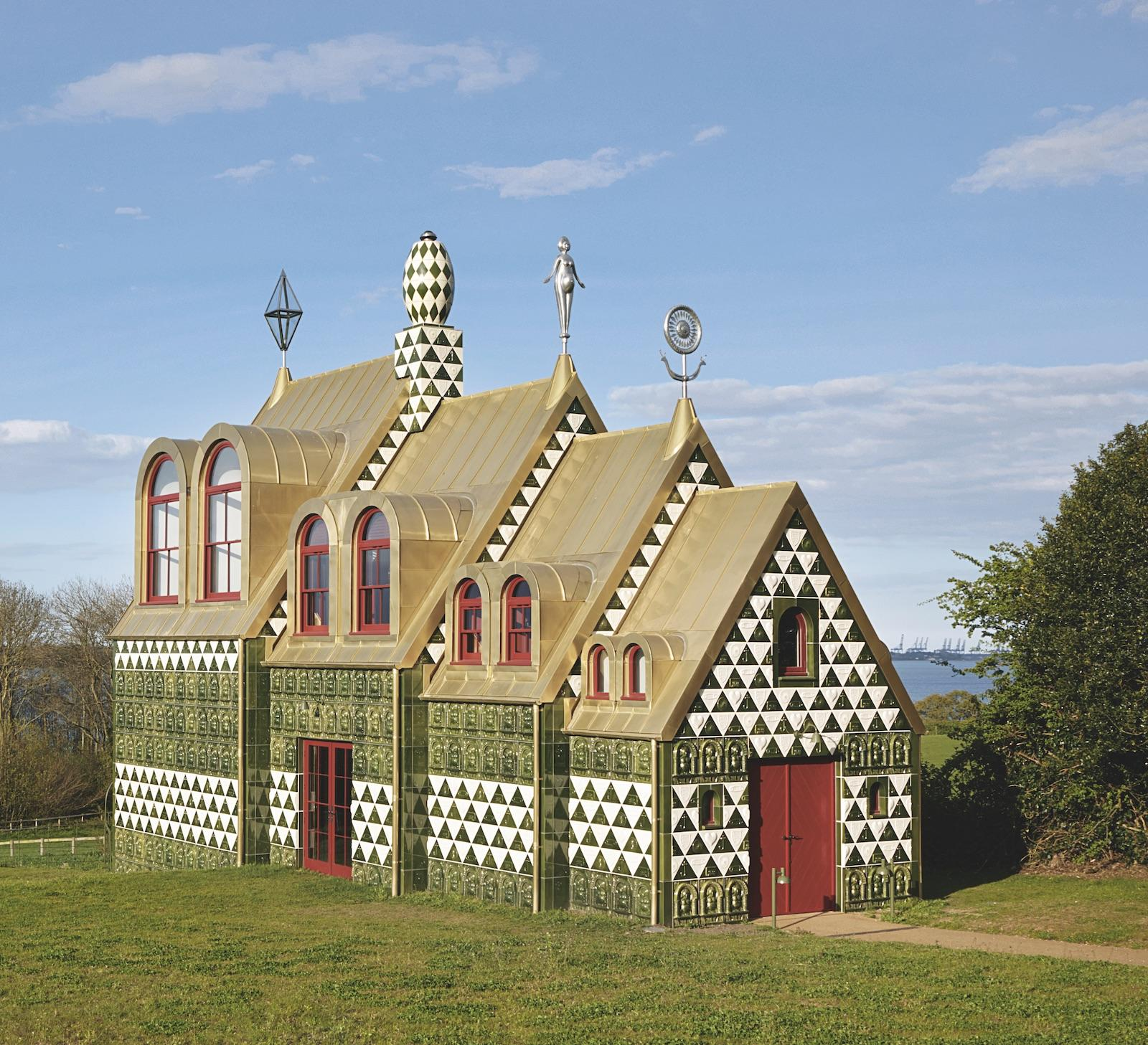 A House For Essex, 2015, Essex, England, UK, FAT & Grayson Perry. Picture credit: Jack Hobhouse/Living Architecture