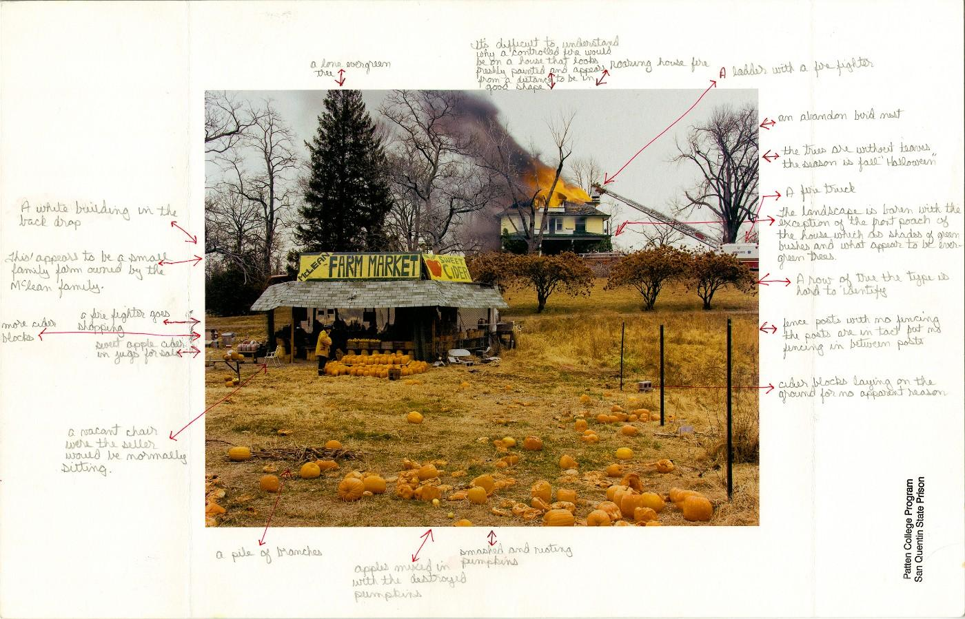 Nigel Poor and Frankie Smith. Mapping Joel Sternfeld, side A, 2011/12.
