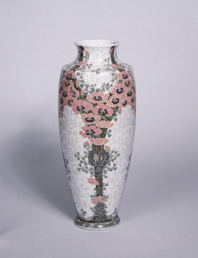 Sèvres Porcelain Manufactory (est. 1756), Vase decorated with Poppies, 1903