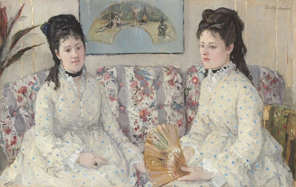 Berthe Morisot, The Sisters, 1869
