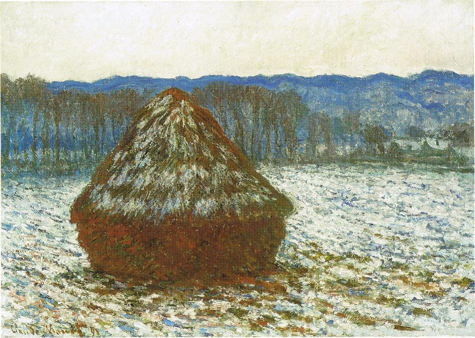 Claude Monet, Wheatstack, 1890-91