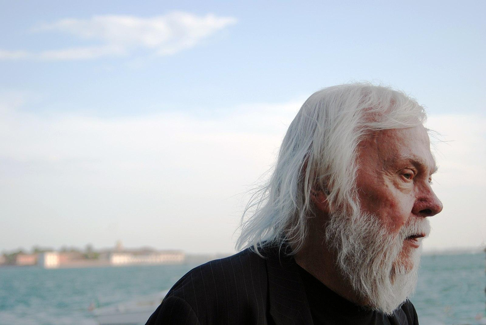 John Baldessari in Venice, 2009