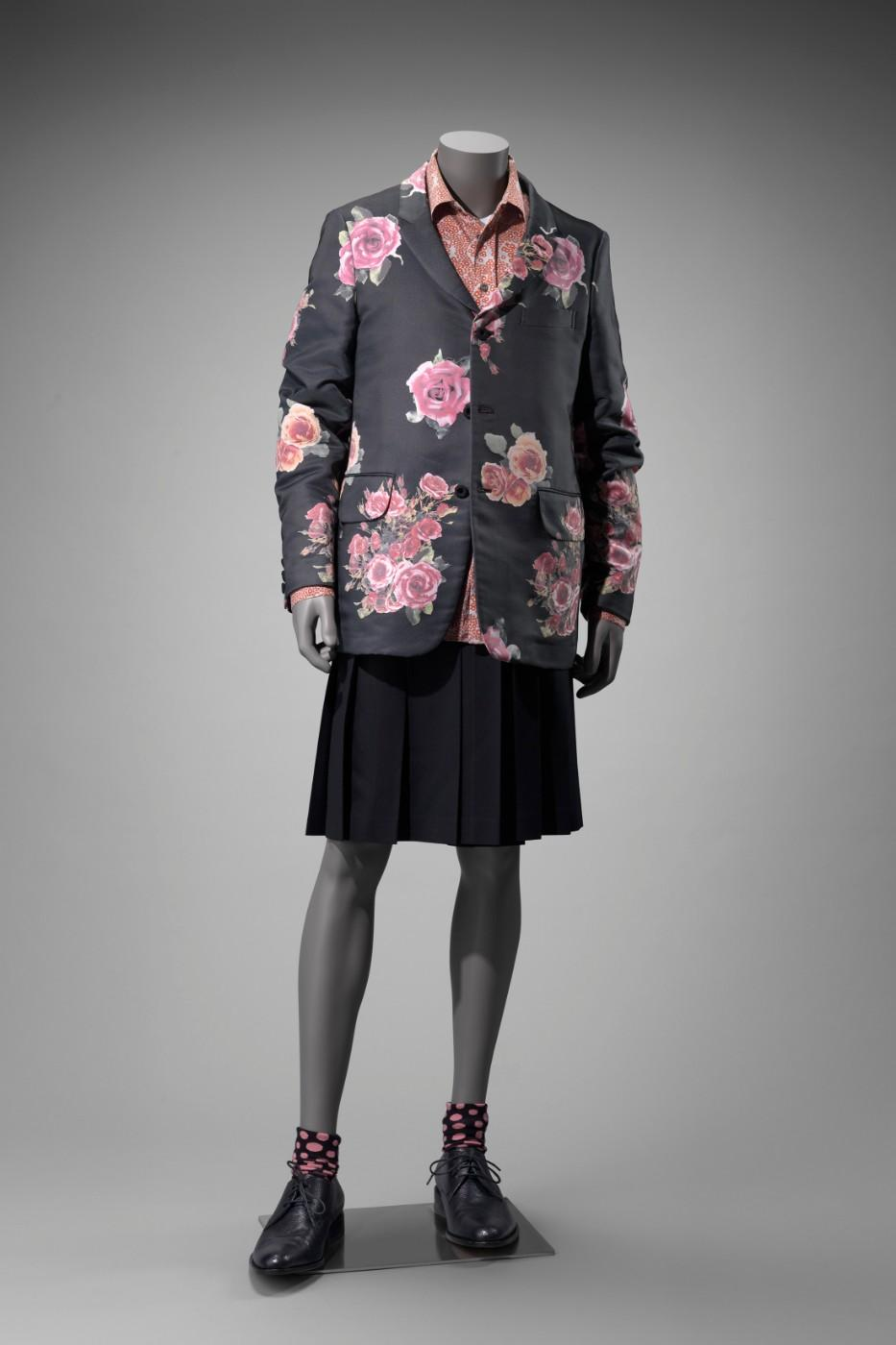 Blazer and kilt, 2012. Comme des Garcons, Ltd. (Japanese, founded in 1969).