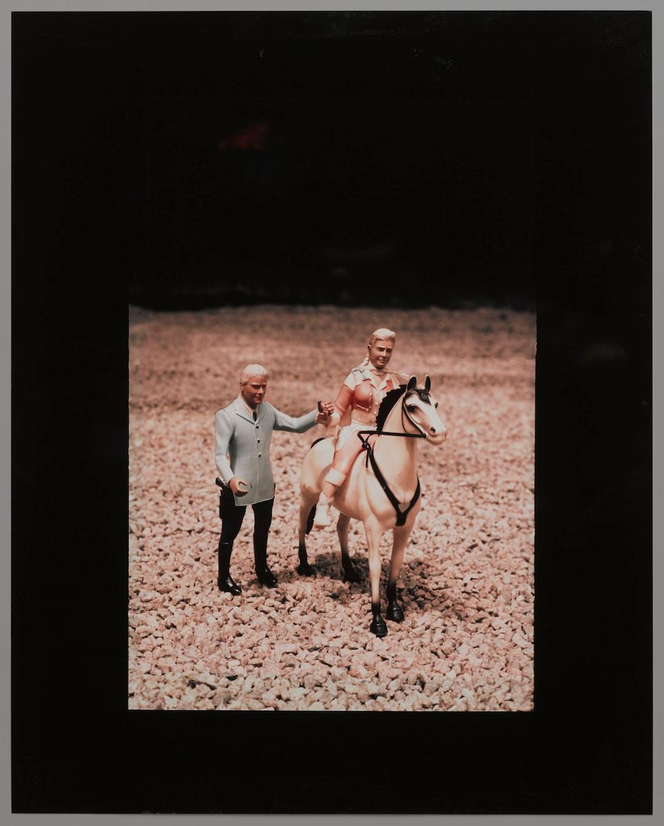 "Laurie Simmons, ""Vertical Man/Woman/Horse"""