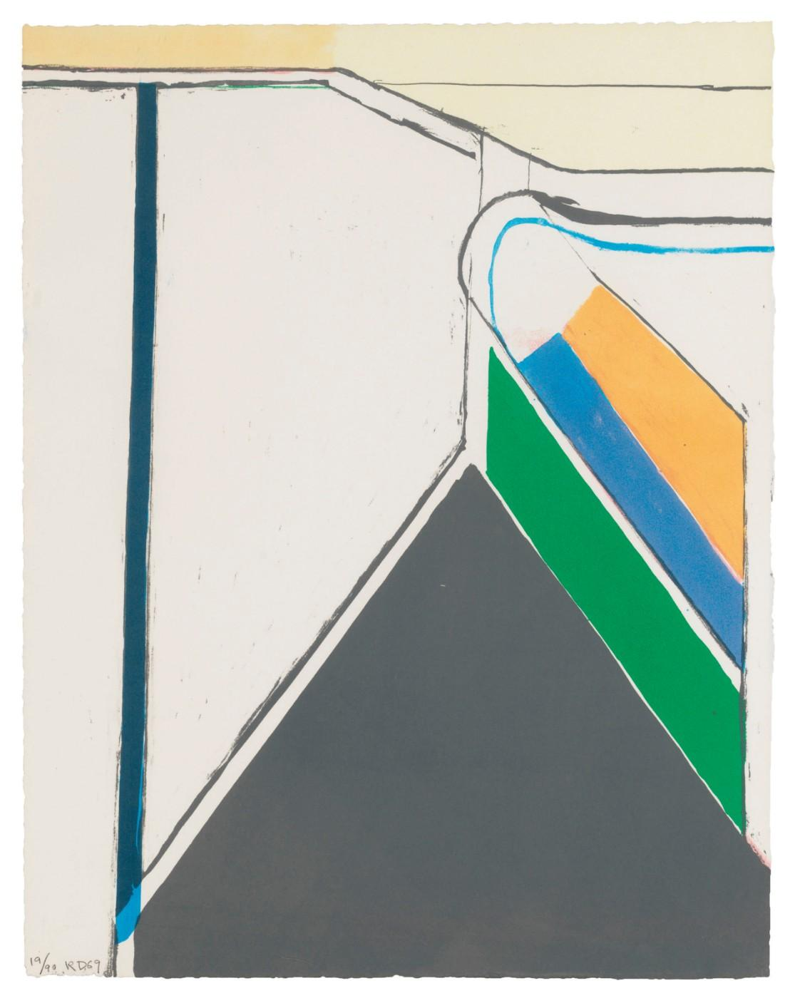 Richard Diebenkorn (1922-1993), Untitled (Ocean Park), 1969