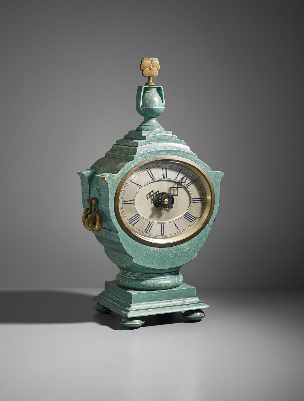 Sir Edwin Lutyens, Mantel clock, designed for Lady Willingdon, the Viceroy's House, New Delhi, circa 1930