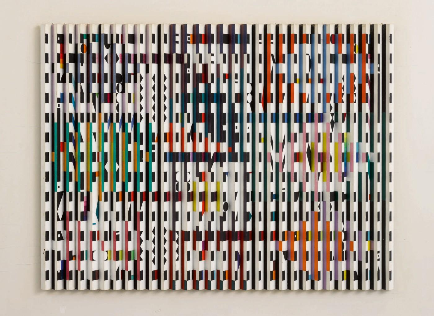 Yaacov Agam, Pace of Time (Time Step), 1966