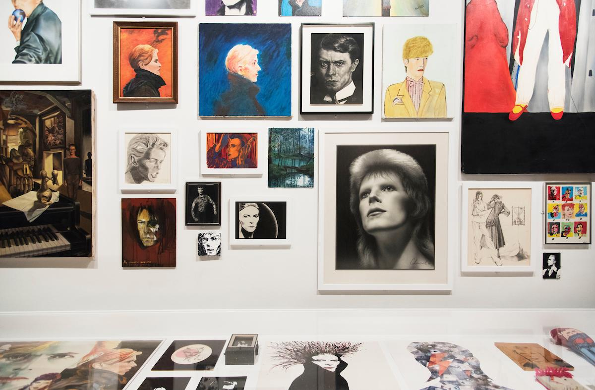 David Bowie is, March 2, 2018 through July 15, 2018, installation view.