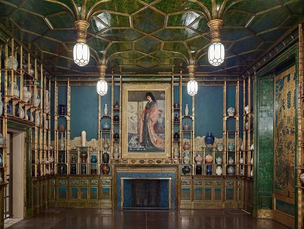 The Peacock Room at the Freer Gallery of Art