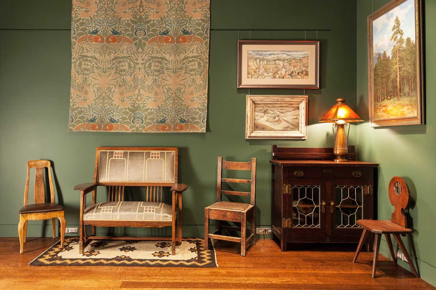 William Morris Wall Hanging Room