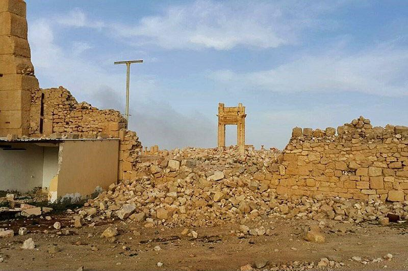 destruction of the Temple of Bel