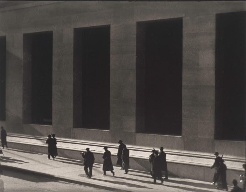 "Paul Strand, ""Wall Street, New York,"" 1915"