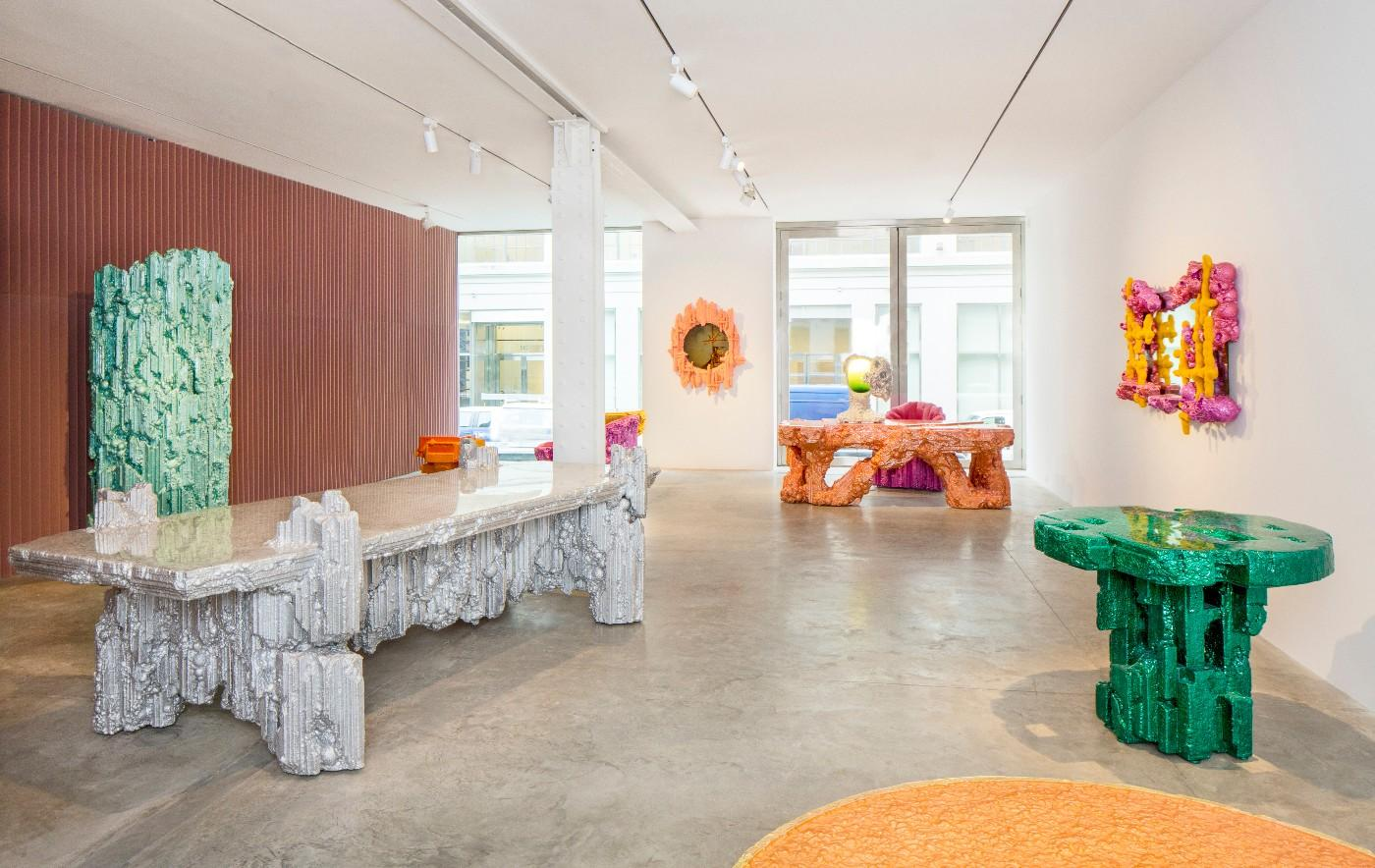 Installation view of Chris Schanck's 'Unhomely' at Friedman Benda