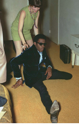 "George Rodriguez, ""David Ruffin of 'The Temptations', The Hyatt House Hotel, 1968"""