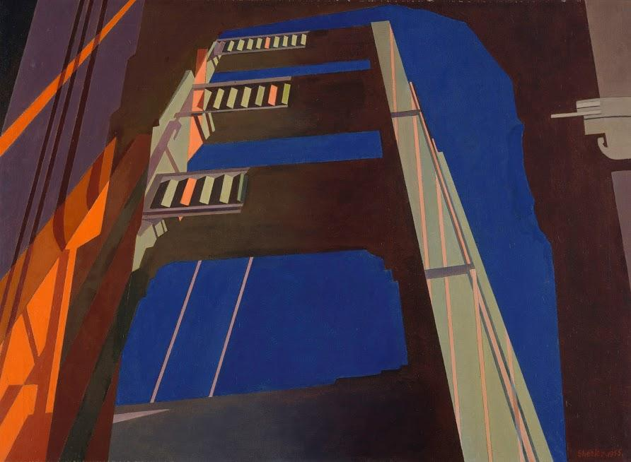 "Charles Sheeler, ""Golden Gate,"" 1955"