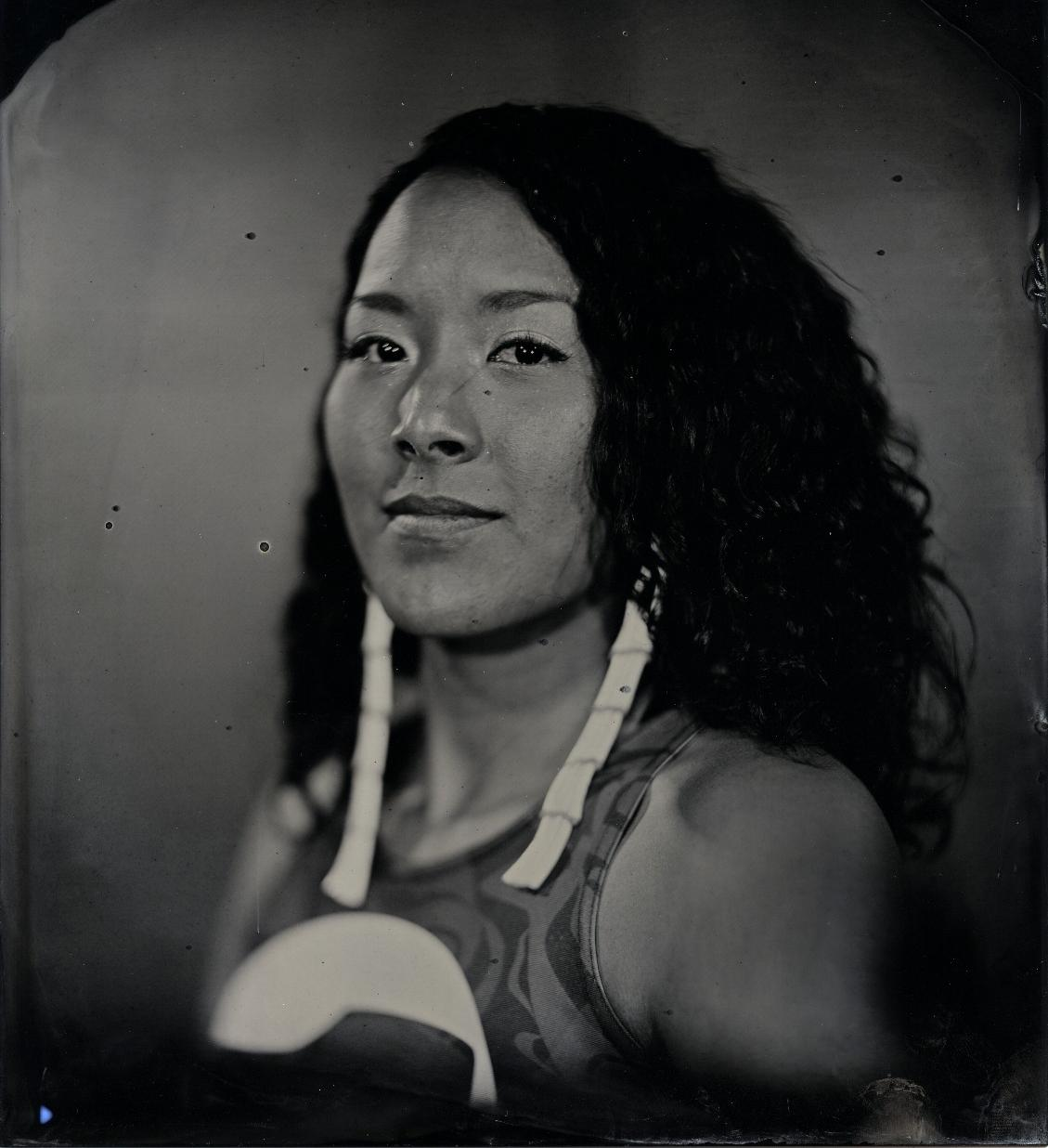 "Will Wilson, Diné, b. 1969, ""Talking Tintype, Crystal Worl, Artist, Tlingit Athabascan,"" 2018"
