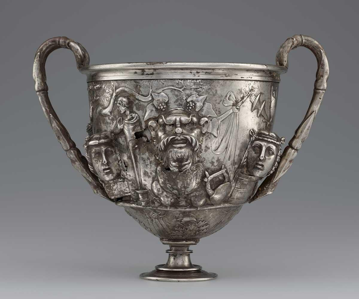 Cup with Masks