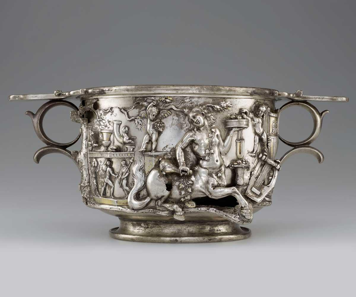 Cup with Centaurs and Cupids