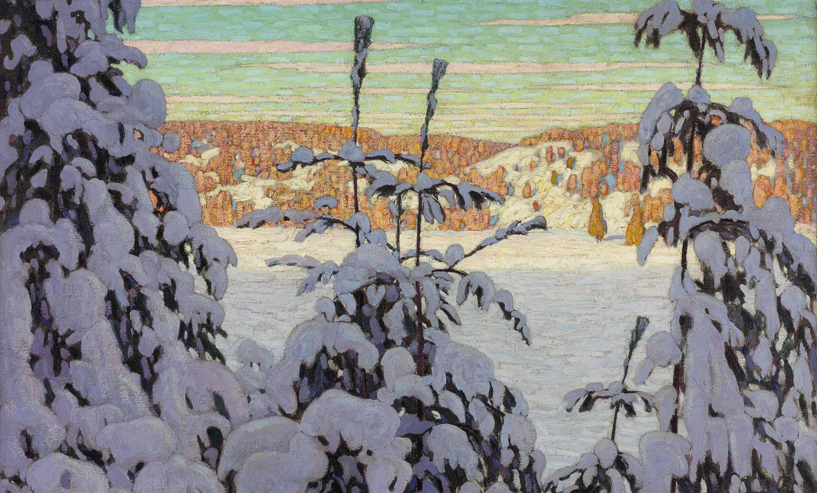 Lawren S. Harris, Snow II, 1915.