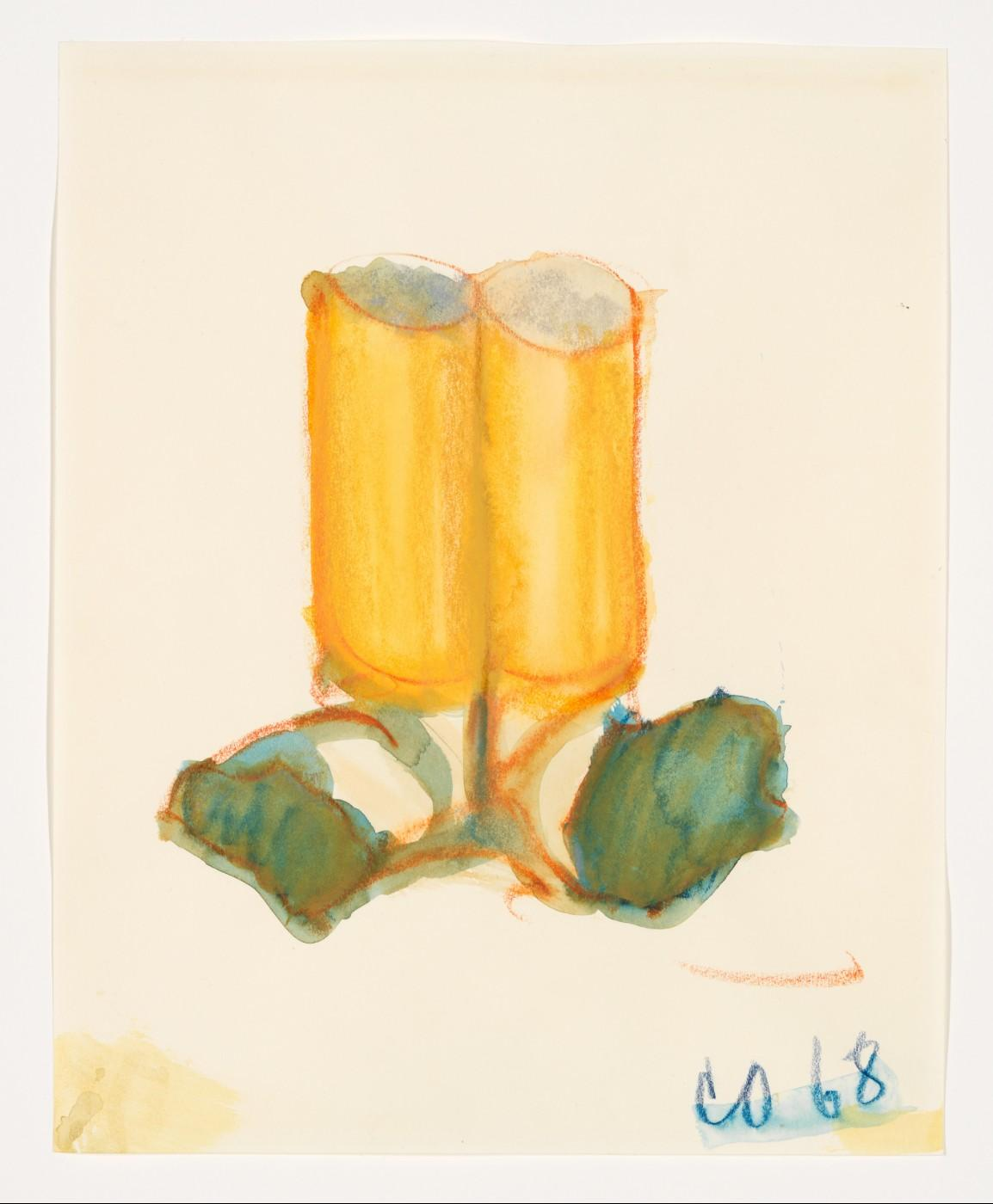 Claes Oldenburg, Two Fagends Together, ll, 1968