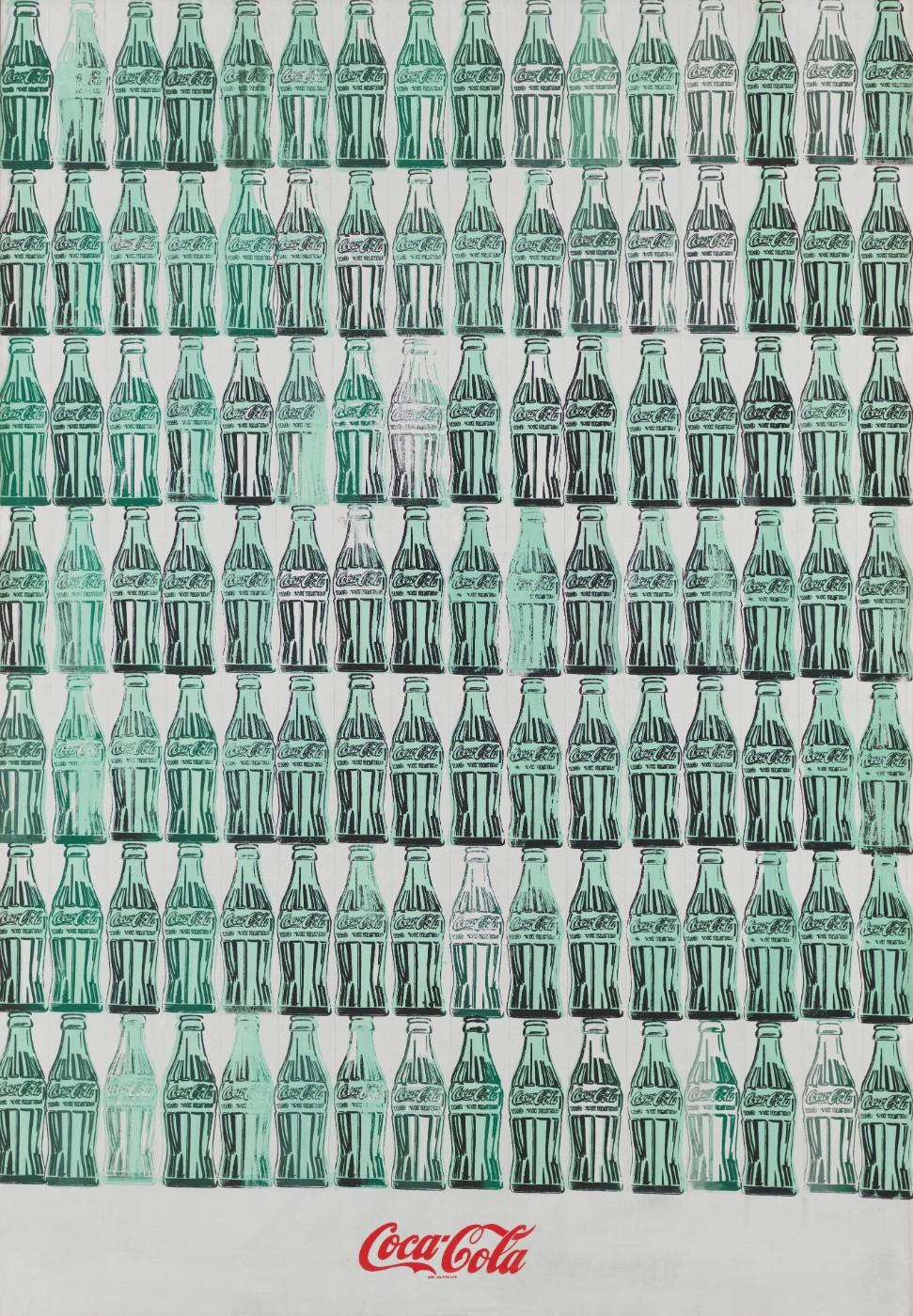 Andy Warhol (1928-1987), Green Coca-Cola Bottles, 1962